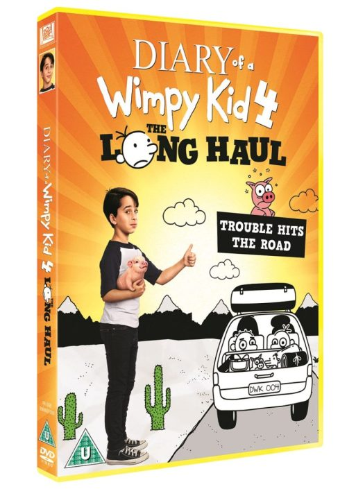 Diary of a Wimpy Kid: The Long Haul DVD