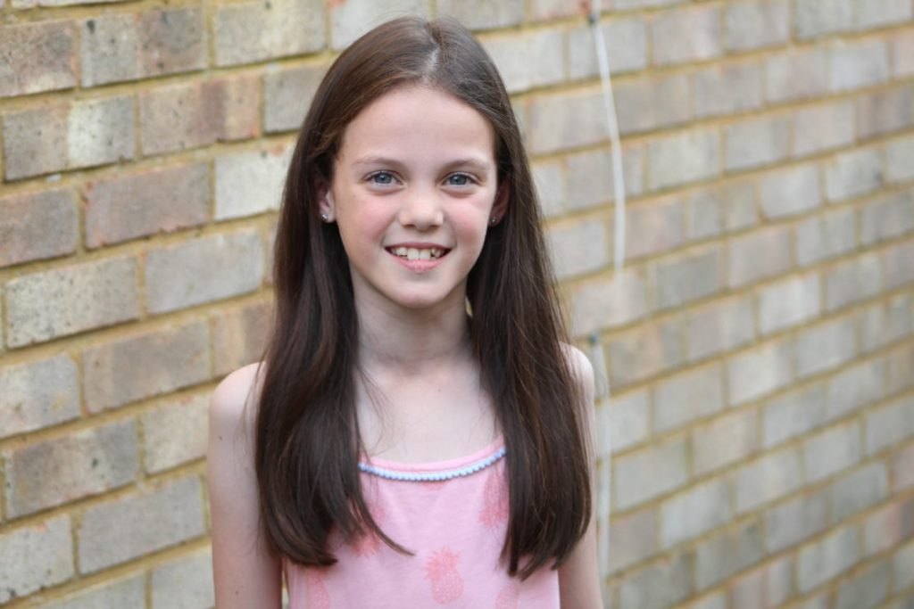 Dear Kayleigh… The day you turned 9!