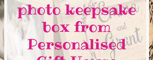 *Prize Draw* Personalised photo keepsake box from Personalised Gift House