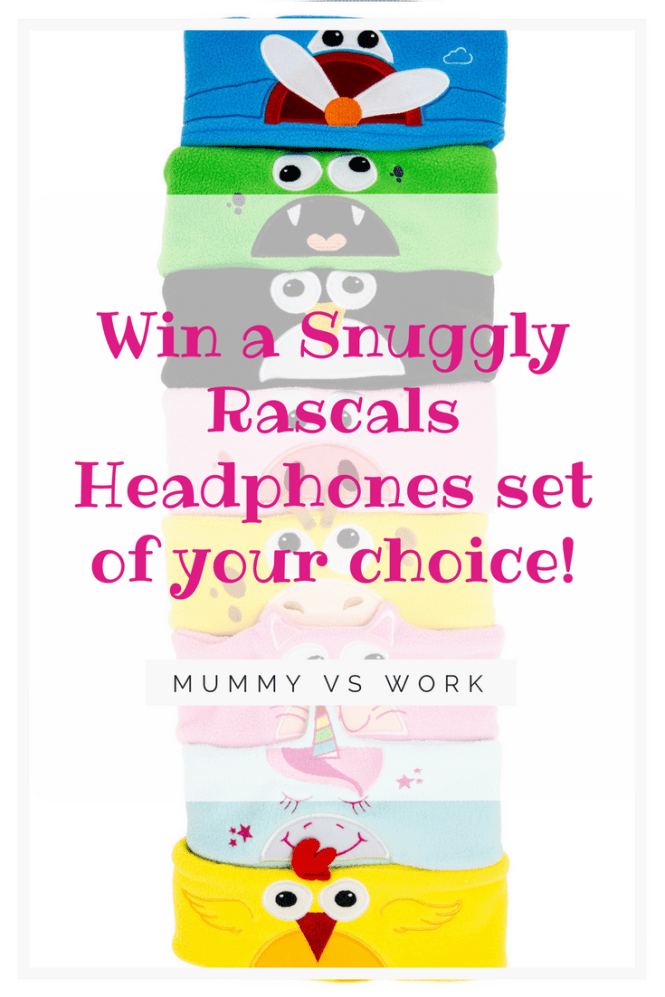 Win a Snuggly Rascals Headphones set of your choice