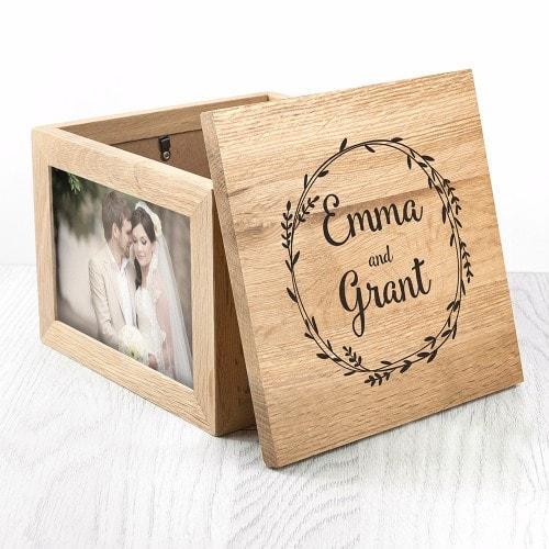 Personalised photo keepsake box from Personalised Gift House