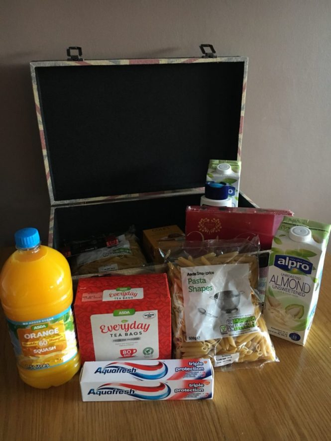 Giving back this Christmas with a reverse advent #FoodbankAdvent