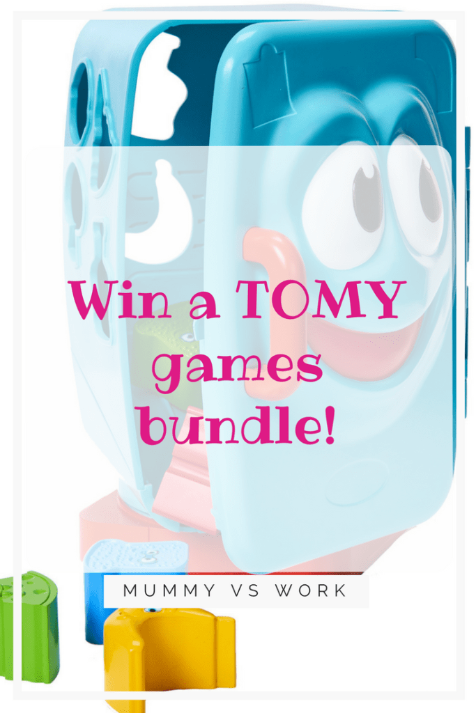 Win a TOMY games bundle
