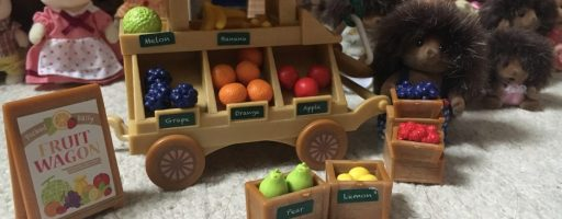 A growing love of Sylvanian families