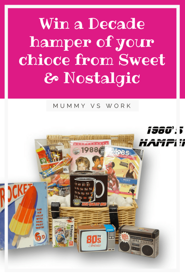 Win a Decade hamper of your chioce from Sweet & Nostalgic