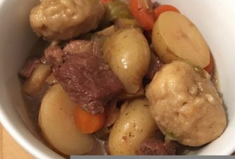 *Recipe* Easy beef stew in the slow cooker