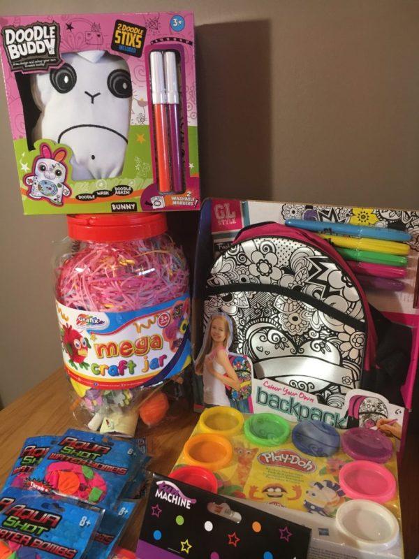 Stocking up on toys from Poundtoys.com