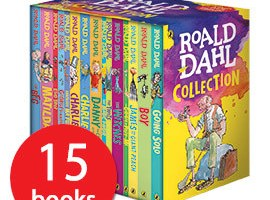 *Prize draw* Roald Dahl Collection – 15 books (2 winners!)