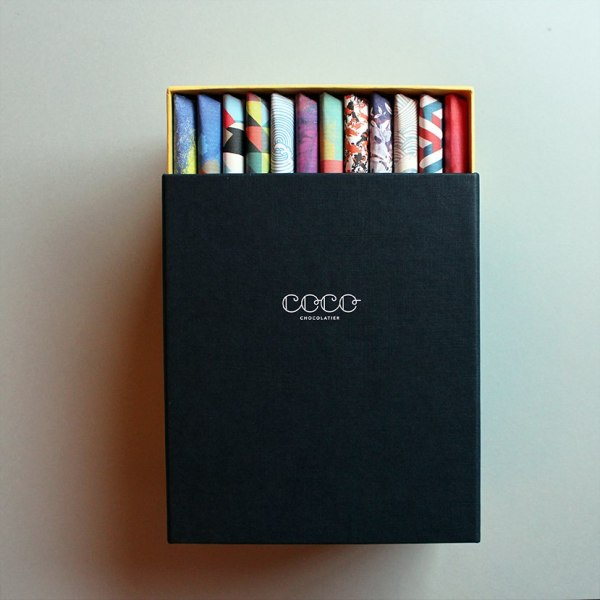 12 Bar Chocolate Box from Coco Chocolatier