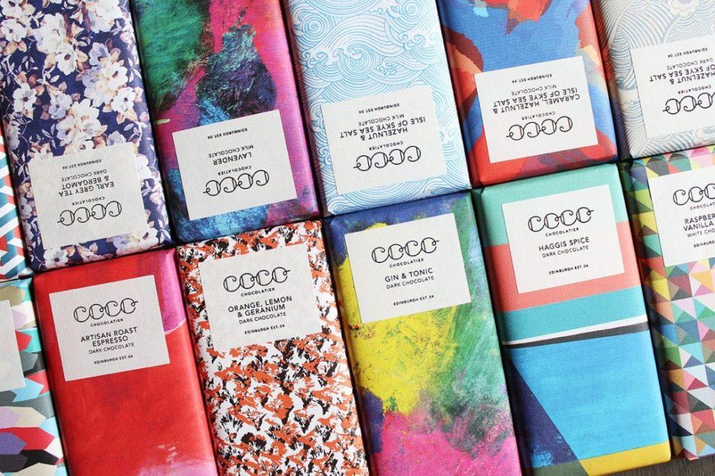 12 Bar Chocolate Box from Coco Chocolatier