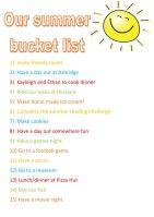 Summer holidays bucket list 2018 – #MVWBucketList