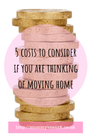 5 costs to consider if you are thinking of moving home