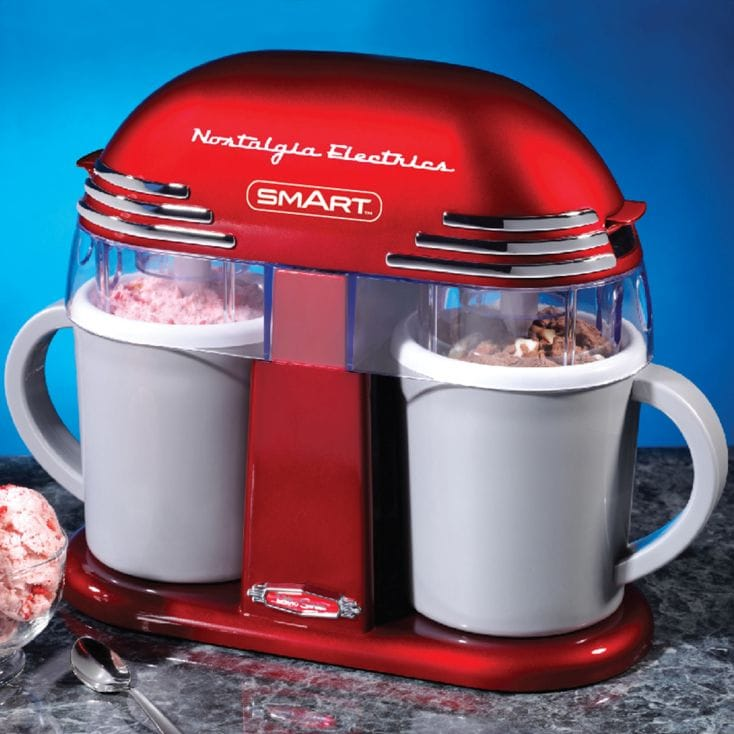 Nostalgia Electrics Double Ice Cream Maker