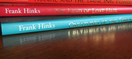 Encouraging the kids to read with the new series of books from Frank Hinks