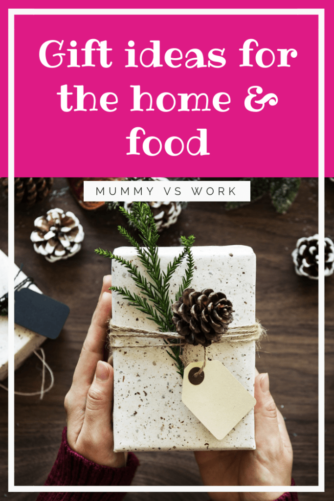 Gift ideas for the home & food