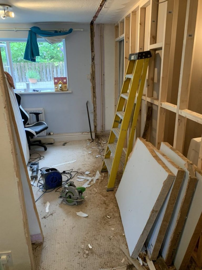 So it begins.... building work has commenced!