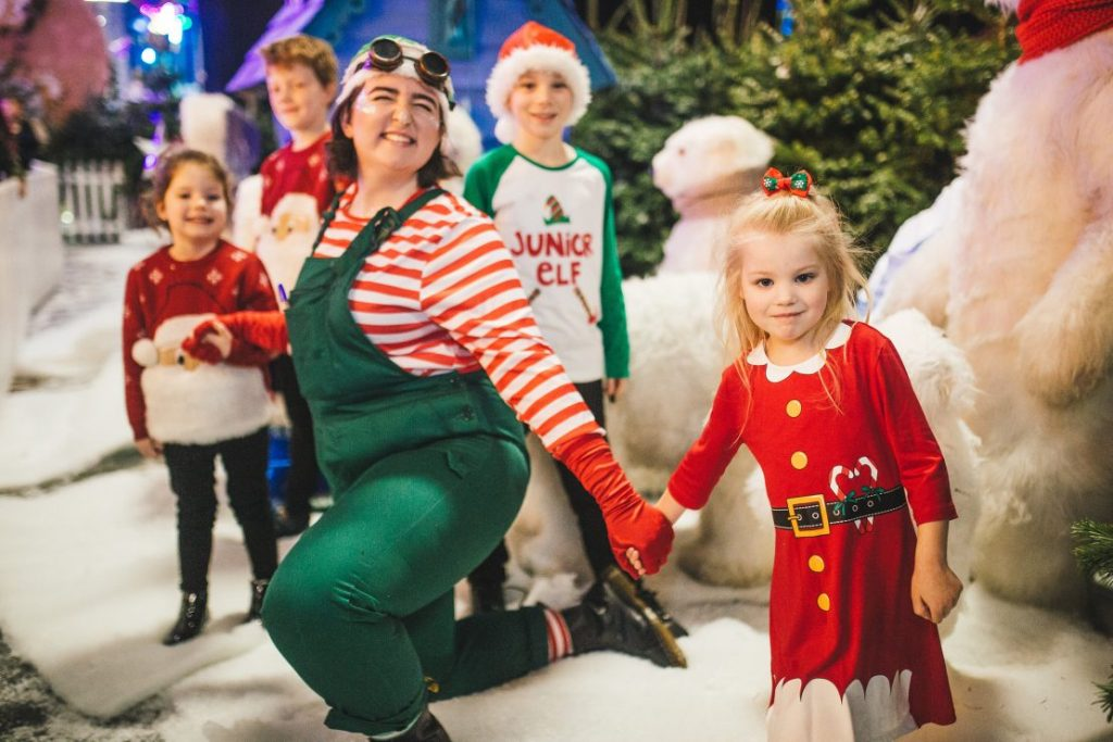 Family tickets to Winter Funland in Manchester