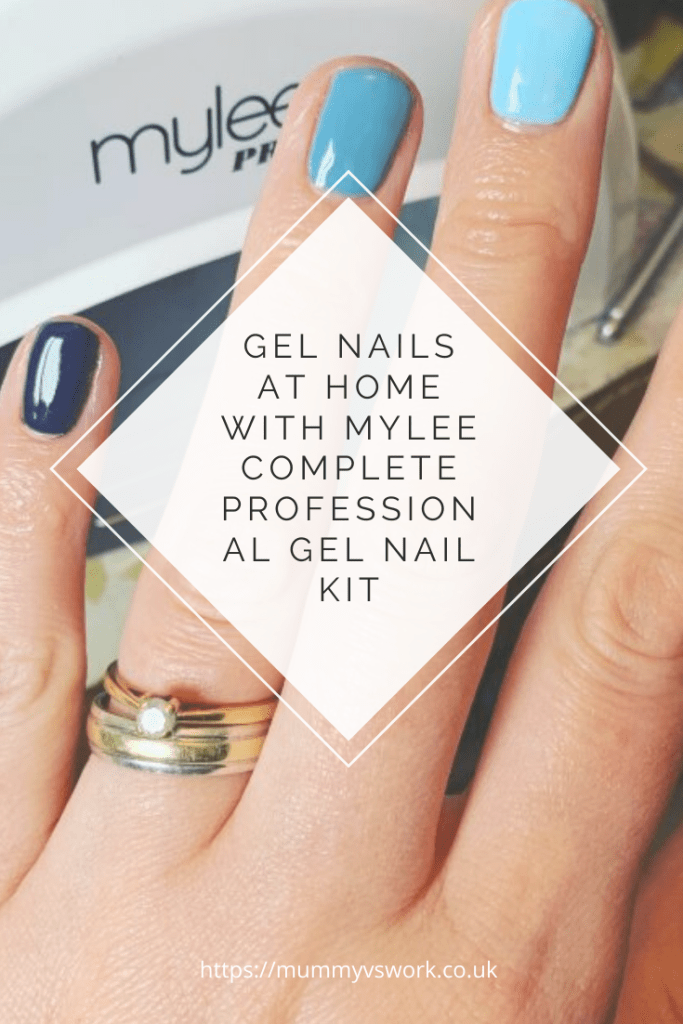 Gel nails at home with Mylee complete professional gel nail kit
