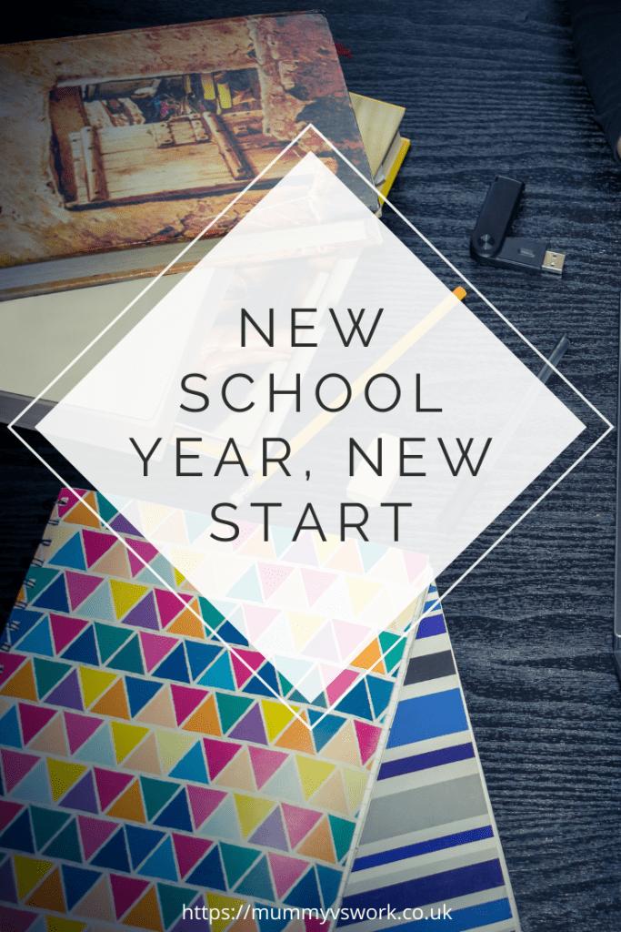 New school year, new start
