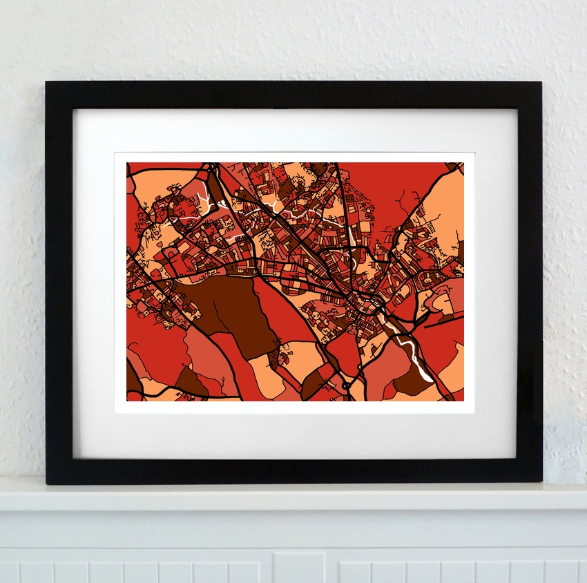 Day 6 - Firewater Gallery A4 framed print