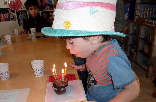 The Death of the Preschool Birthday Cake - have we gone too far?