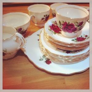 My mums china tea cups