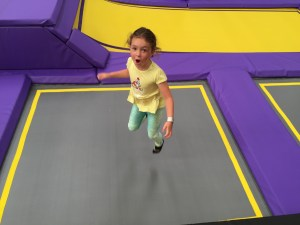Gravity Force square trampolines
