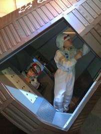 exploring the Mercury Capsule