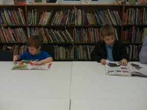After school fun at the library.