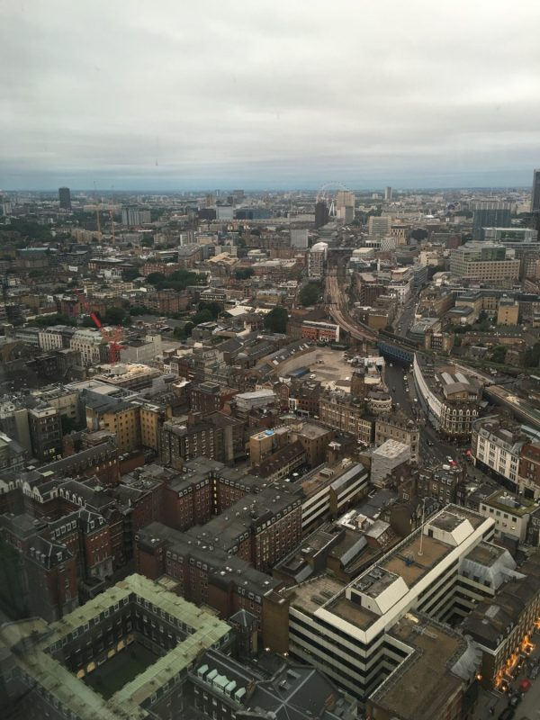 London View from The Shard