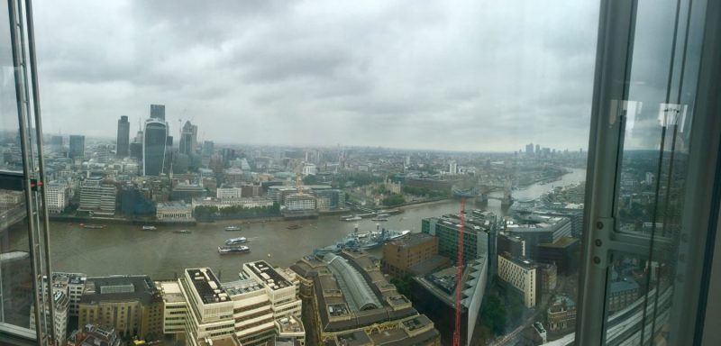 London River View from The Shard