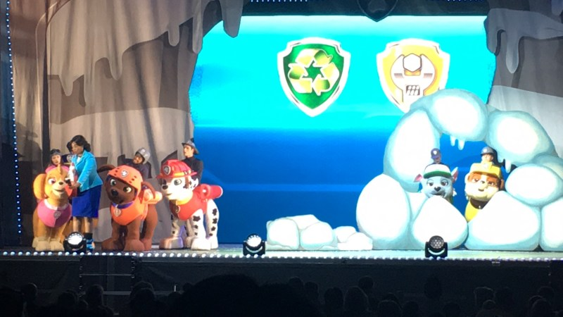 Paw Patrol Live, Mayor and the pups finding ways to rescue their friends
