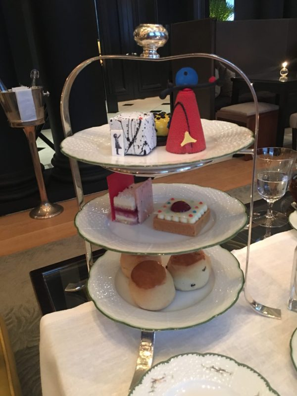 Art Afternoon Tea tower
