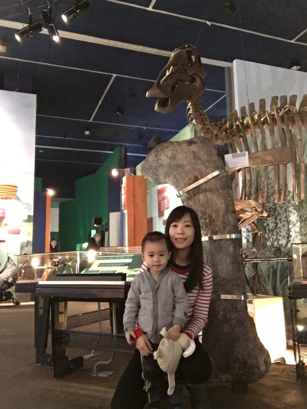 Dinosaur exhibition at National Museum Cardiff