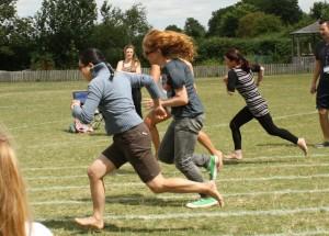Sports day, race, school, mums