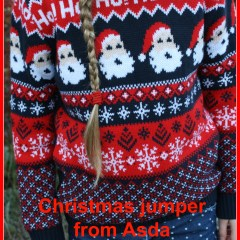 What she wore: Christmas jumper