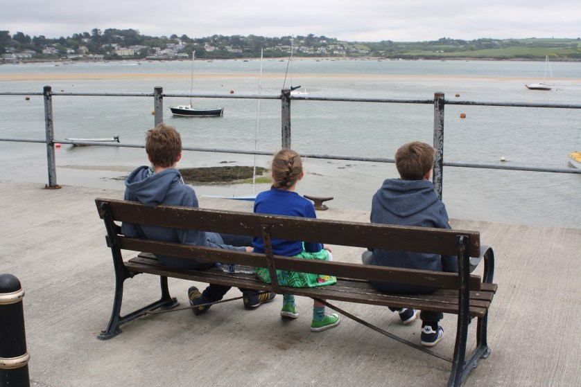 Seaside, Sons, Daughter, Silent Sunday, My Sunday Photo, Padstow