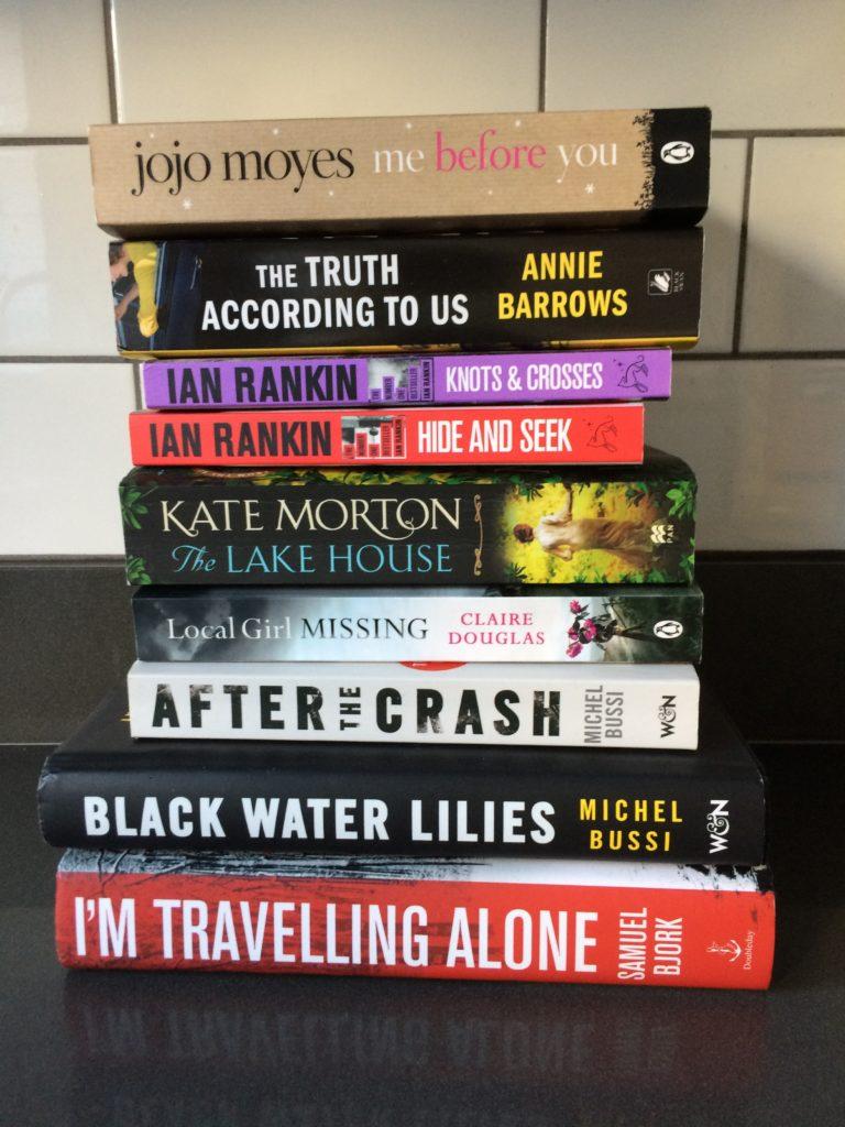 Books, Reading, 2016