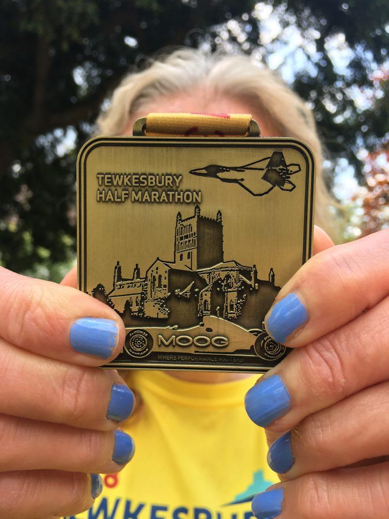 Tewkesbury half marathon, Medal, Silent Sunday, My Sunday Photo