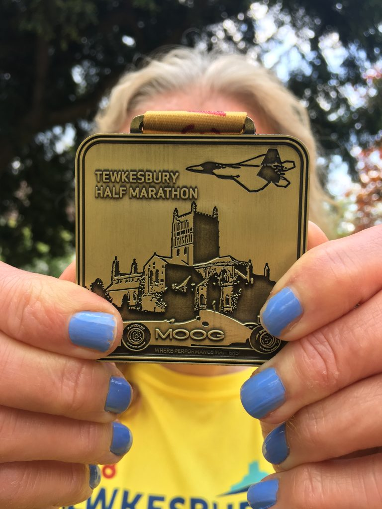 Tewkesbury half marathon, Medal, Silent Sunday, My Sunday Photo, 2018 - that was the year that was