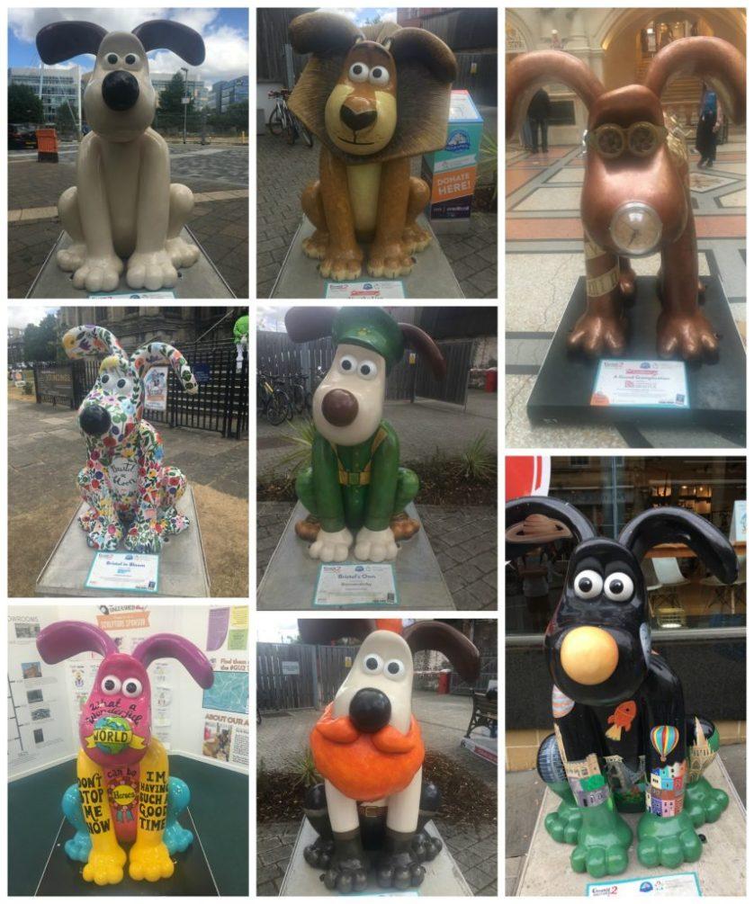 2018 - that was the year that was, Gromit, Gromit Unleashed 2, Bristol