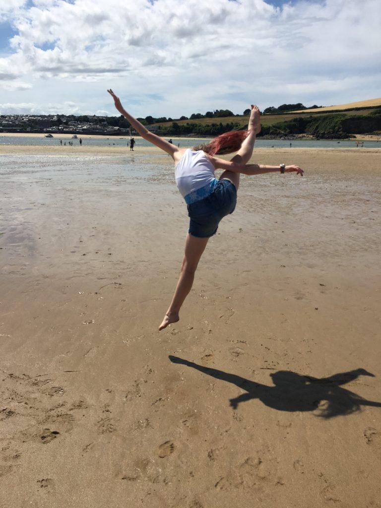Daughter, Beach, Holiday, Cornwall, 365