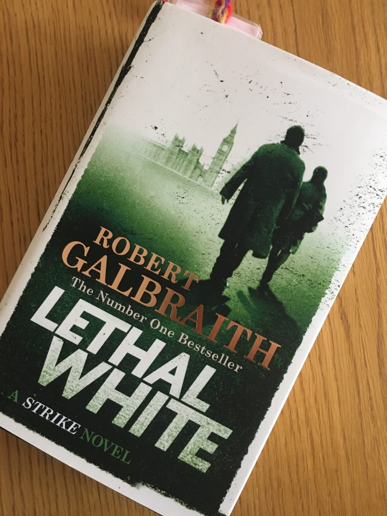 Lethal White by Robert Galbraith, Lethal White, Robert Galbraith, Book review, Lethal White review
