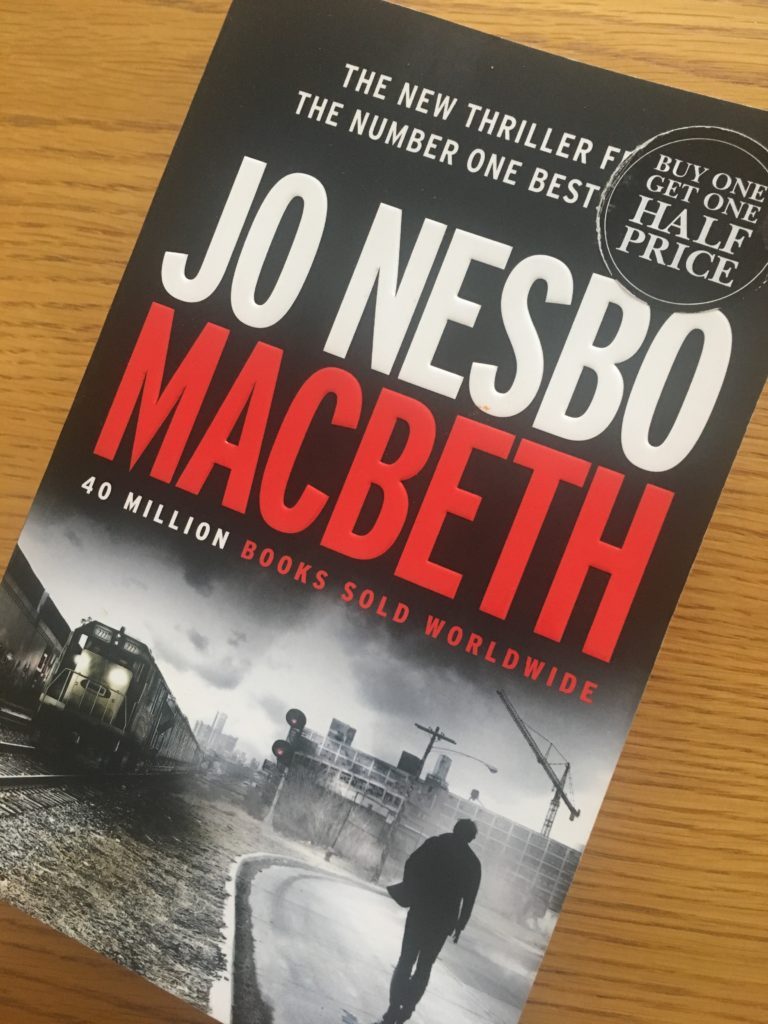 Macbeth by Jo Nesbo, Jo Nesbo, Book review, Macbeth review, Jo Nesbo review