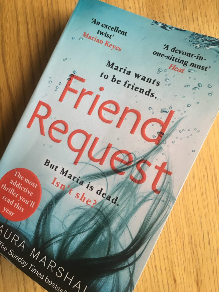 Friend Request by Laura Marshall, Friend Request, Book review