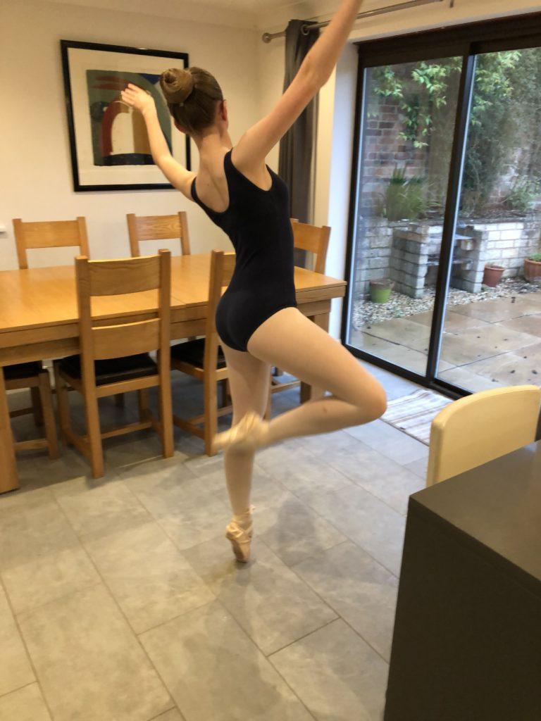 Daughter, Ballet, Pointe, 365