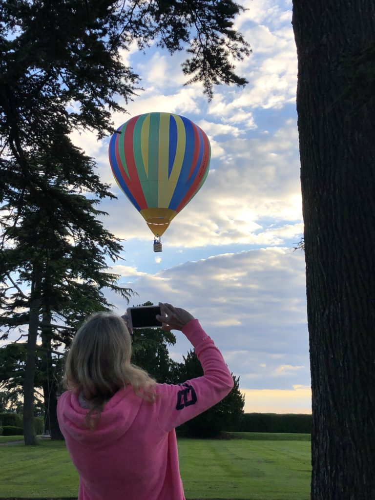 Hot air balloon, Cheltenham Balloon Fiesta, Balloon, Gloucestershire, 365