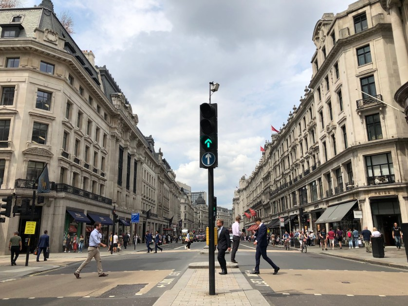 Regent Street, London, Silent Sunday, My Sunday Snapshot