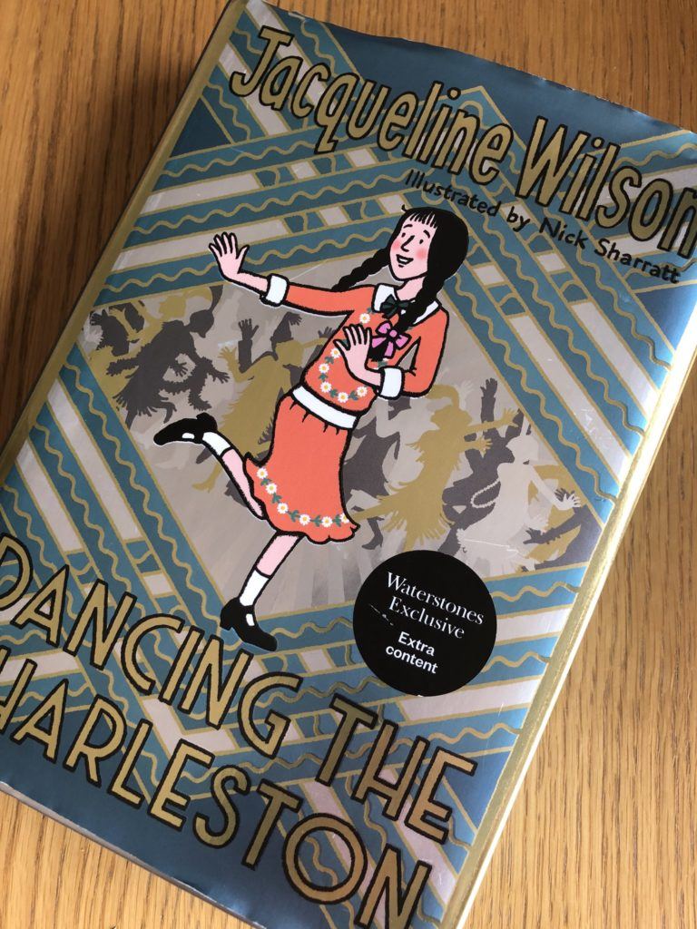 Dancing the Charleston, Jacqueline Wilson, Book review, Dancing the Charleston by Jacqueline Wilson