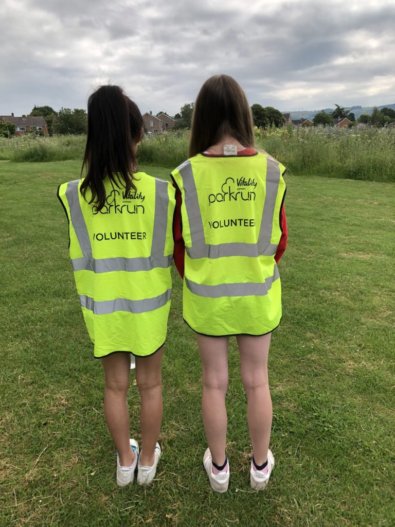 Daughter, Friends, parkrun, volunteering, 365, The year 8 challenge
